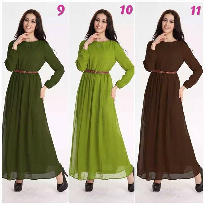dress muslimah 2014