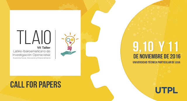 VII Taller Latino- Iberoamericano de Investigación Operacional en Ecuador