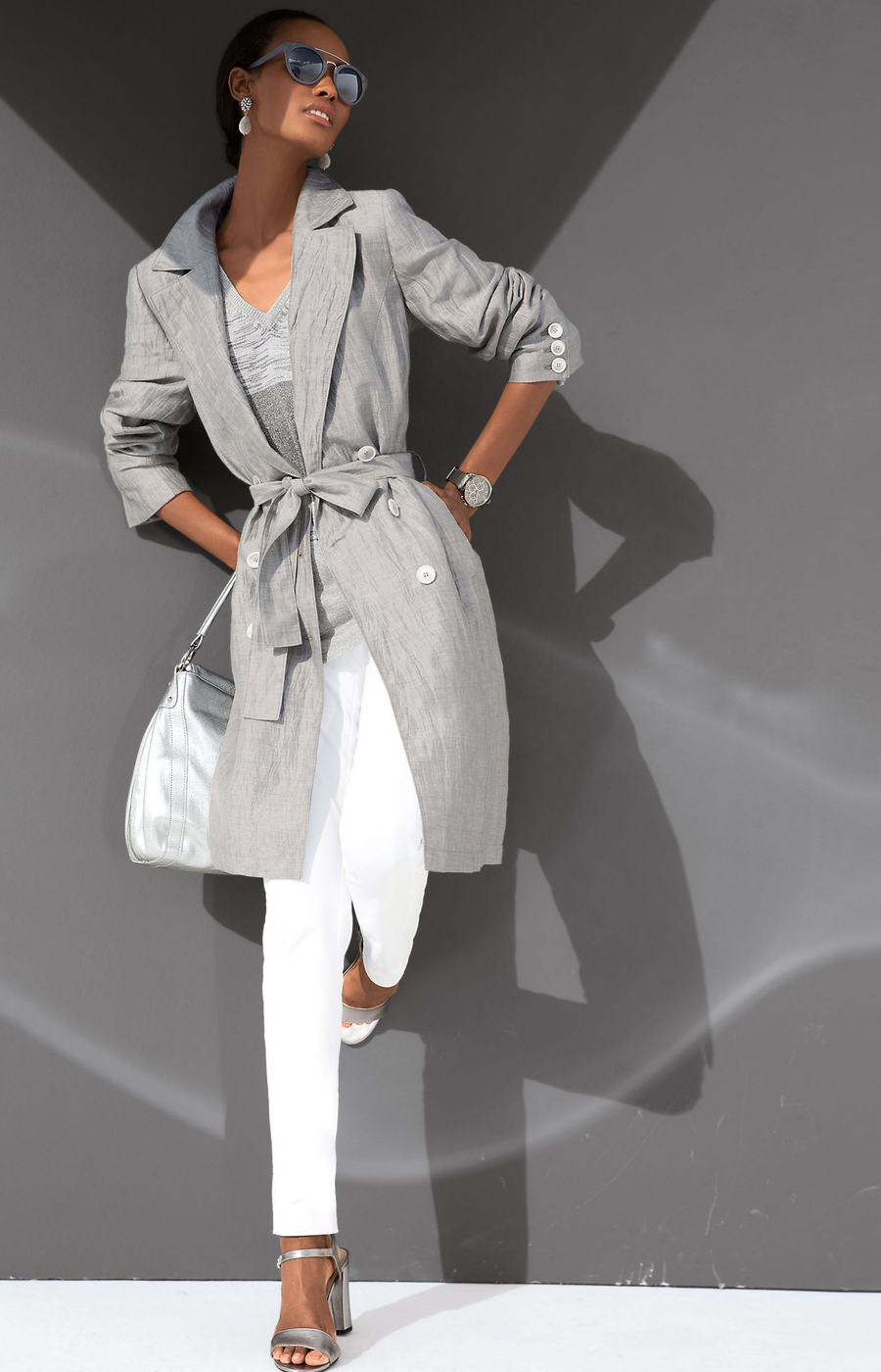 MADELEINE TRENCH COAT