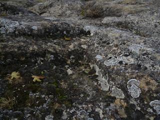 Escalones tallados en la roca