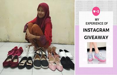 Tips Sukses Menang Giveaway Sepatu Di Instagram