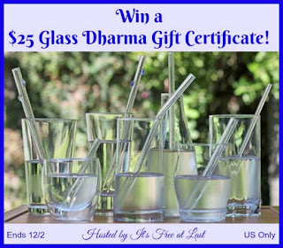 Enter the Glass Dharma Gift Certificate Giveaway. Ends 12/2