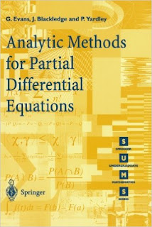 Analytic Methods for Partial Differential Equations pdf download free