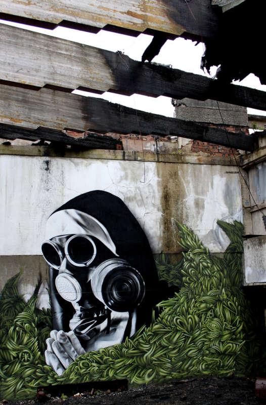 SmugOne - рисунки на стенах 13