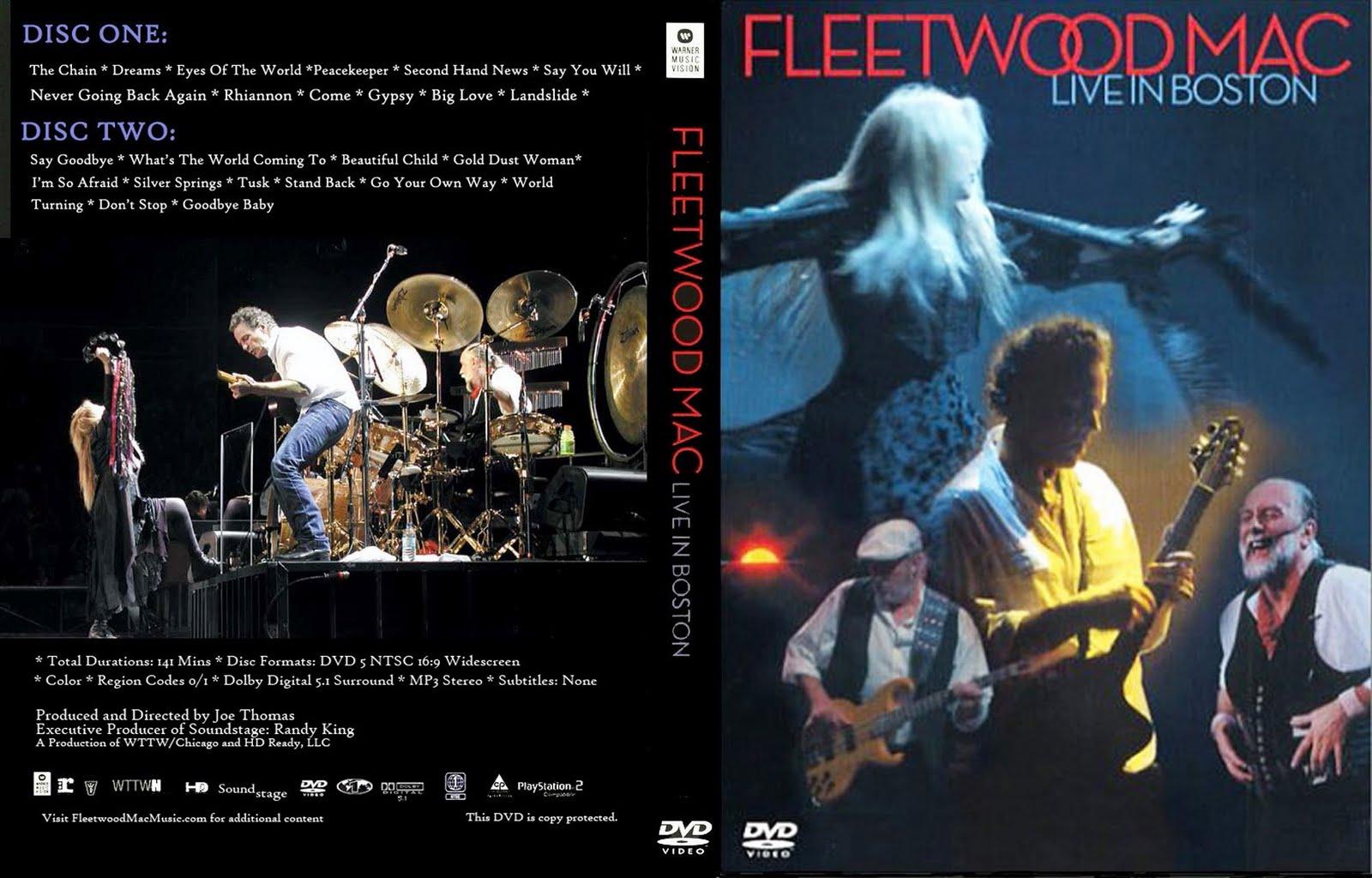 Castelarblues Dvd Fleetwood Mc Live In Boston 2004