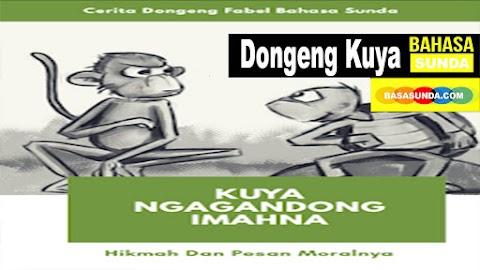 Dongeng Fabel Bahasa Sunda, Kisah Kuya Yang Membawa Rumahnya