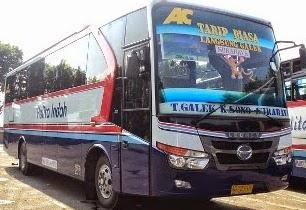 daftar rute, tarif, dan jadwal bus pelita indah surabaya-tulungagung-trenggalek