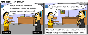 Be honest in your communications as a Project Manager