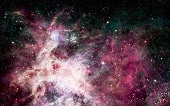 Wallpaper: Tarantula, Orion and the Carina Nebula