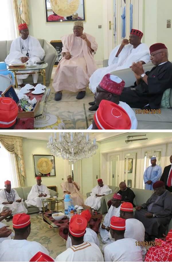 2019: Kwankwaso Visits Ibrahim Babangida (Photos)