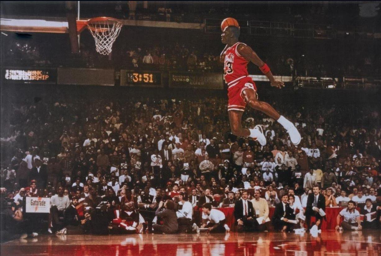 engañar Teleférico Listo  Tot[e]s a una: Entrevista a Michael Jordan