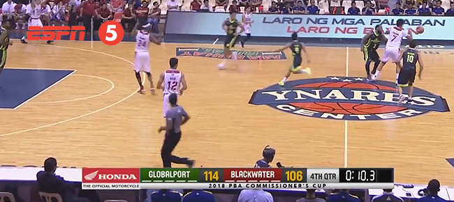GlobalPort def. Blackwater, 117-106 (REPLAY VIDEO) May 2