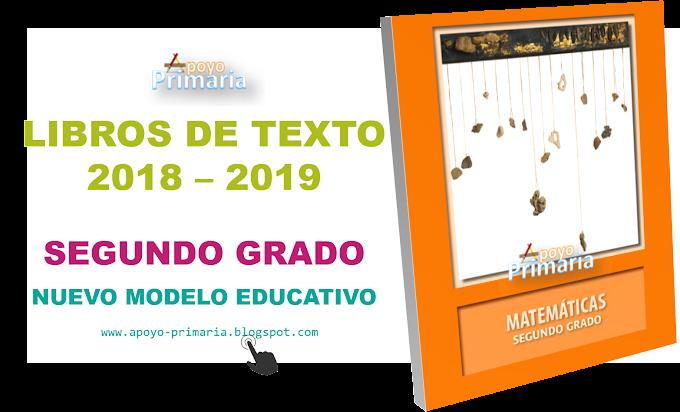 Libros de texto para segundo grado de primaria 2018 - 2019