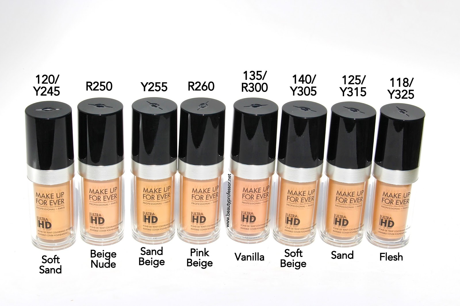 Hd forever foundation colors