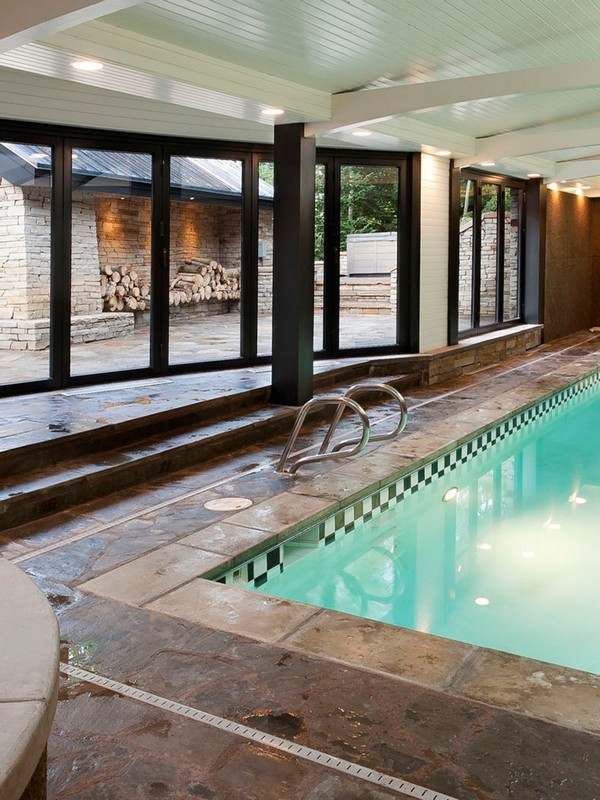 Picture of indoor pool