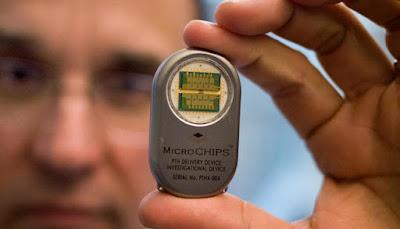 Chip suministra medicamentos durante 16 años