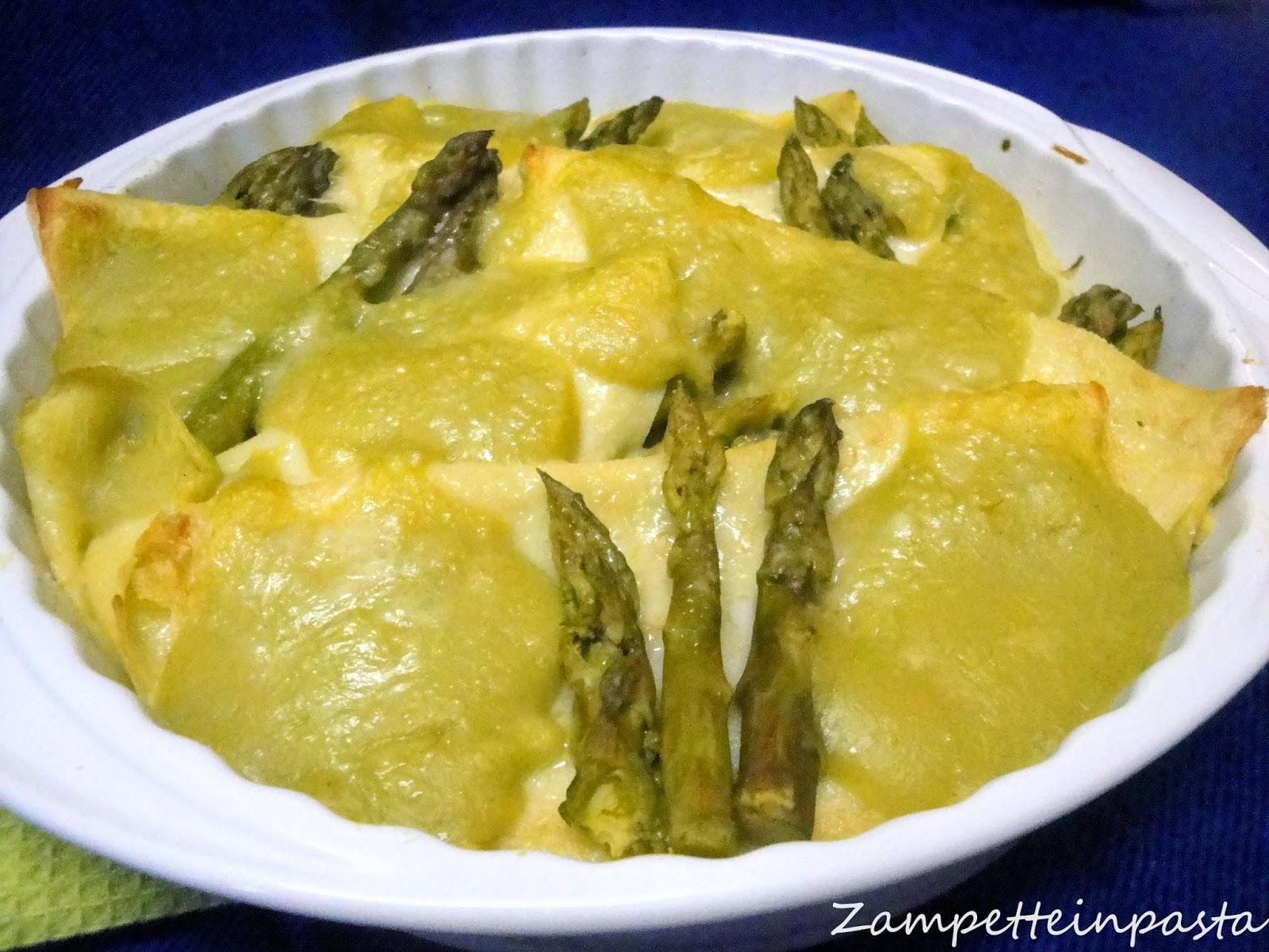 Crespelle agli asparagi - Ricette con gli asparagi