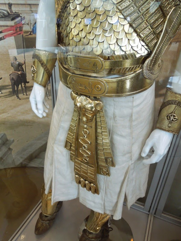 Ramesses Exodus Gods and Kings costume detail