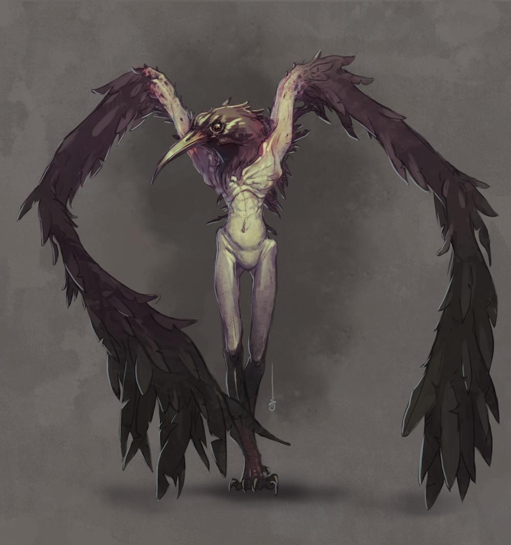 Dark souls 2 bird lady