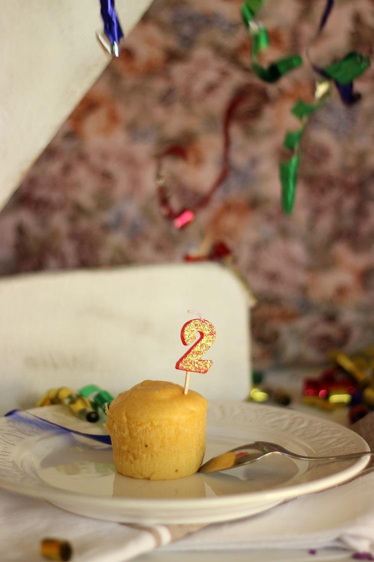 Coulant de queso Idiazabal y...¡¡ 2º Cumpleaños!!
