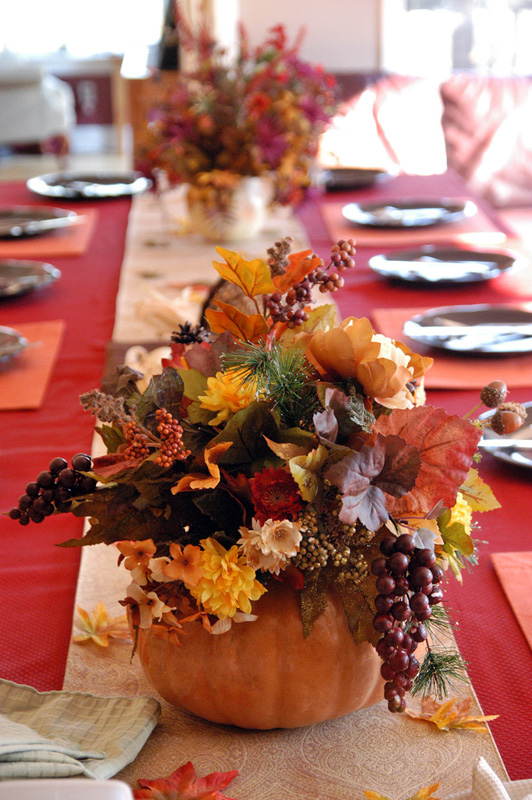 Decoration Ideas For Thanksgiving Table