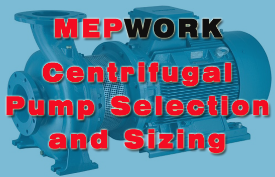 Centrifugal Pump Selection and Sizing Notes PDF