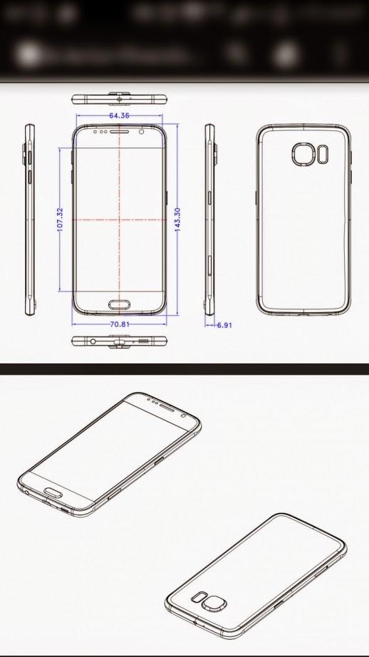 Worldwide Tech & Science: Schematics of the Samsung Galaxy S6