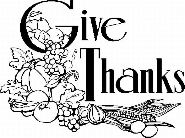 10 Thanksgiving Coloring Pages | 455x610