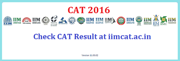 CAT 2016 result announced by IIMCAT