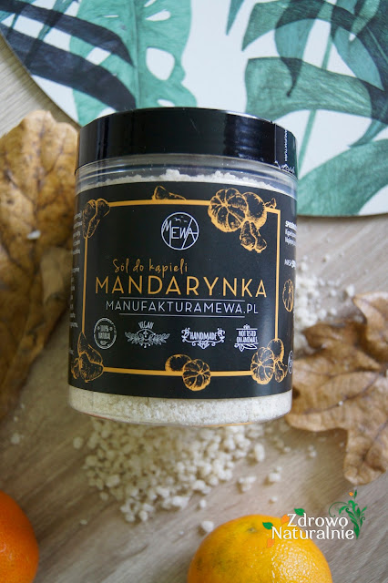 Mewa - Sól do kąpieli mandarynka
