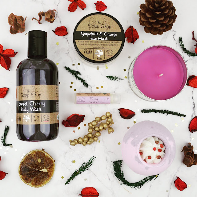 Lovelaughslipstick blog - Christmas Gift Ideas, Bath & Body Pampering Package from A Bundle Of, ABundleOf
