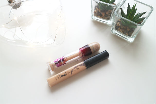 Maybelline Instant Eye Eraser and Fit Me Concealer | The Beauty is a Beast