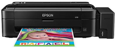 The get-go amongst ink tank applied scientific discipline model grants gilded criterion impress pleasant Epson L110 Driver Download