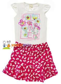 Revenda de conjuntos de moda infantil