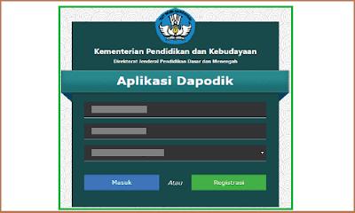 Prefill Dapodik 2019 (Link Genarate Prefill Dapodikdasmen)
