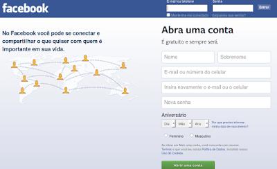 Como criar um Facebook de graça
