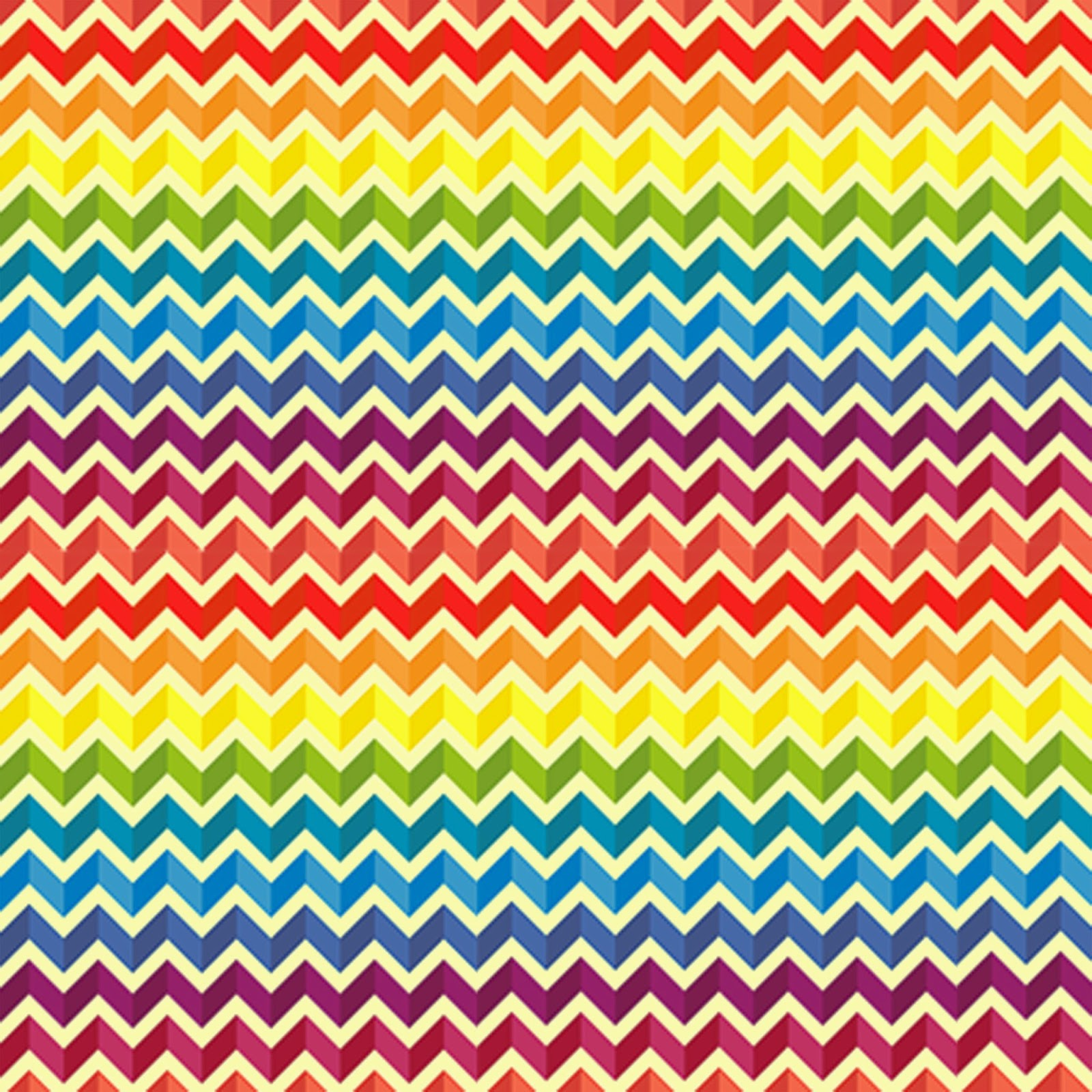 8 Colorful Block Chevron Freebie Printable Patterns