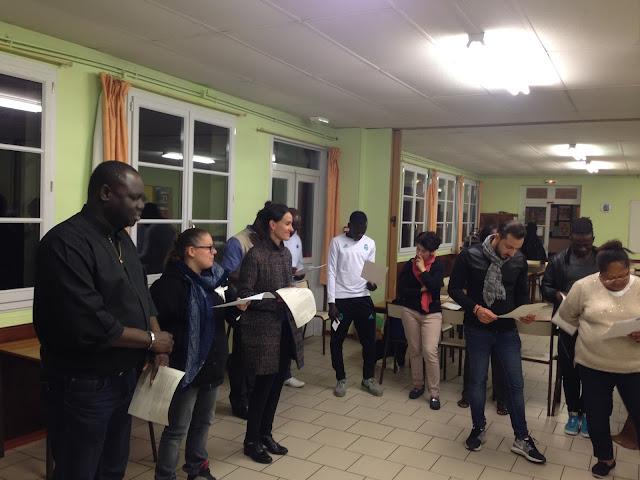 catéchuménat de Sens Paron Saint Clément Yonne baptême eucharistie confirmation des adultes