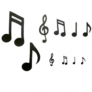 notas musicales dibujos