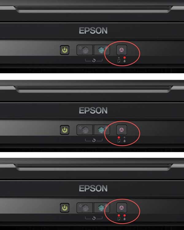 Cara Mengatasi Lampu Indikator Tinta Berkedip Blinking Pada Epson...
