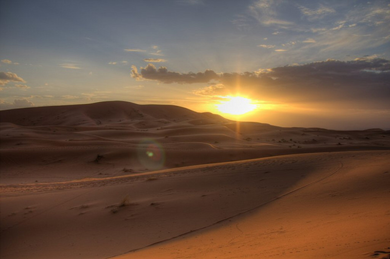 10. Sahara Desert - 20 of The Best Places To Watch The Sunset