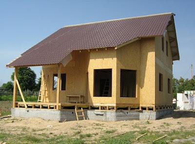 Каркасное домостроение фото