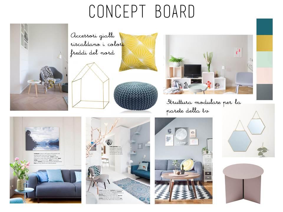 la tazzina blu: e-design shop: arredare il nuovo soggiorno - Soggiorno Nordico