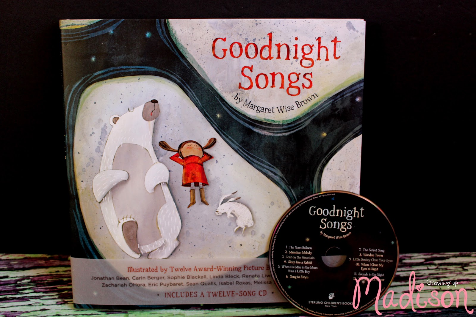 Goodnight Songs by Margaret Wise Brown - AnnMarie John