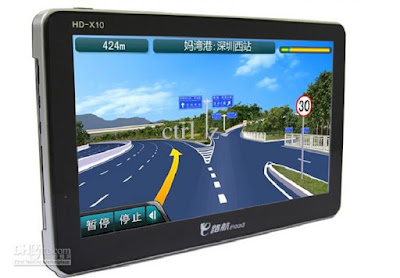 GPS on Tablet