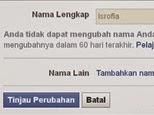 Cara Mengganti nama Facebook SEPUASNYA!