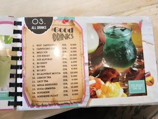 Harga Blessing Cafe Kediri