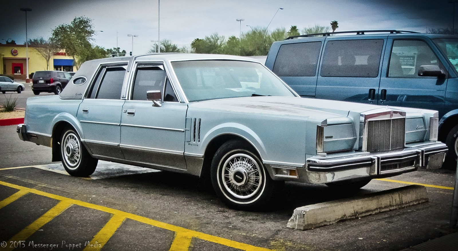 1980 Lincoln Continental Mark Vi Kiss My Asphalt