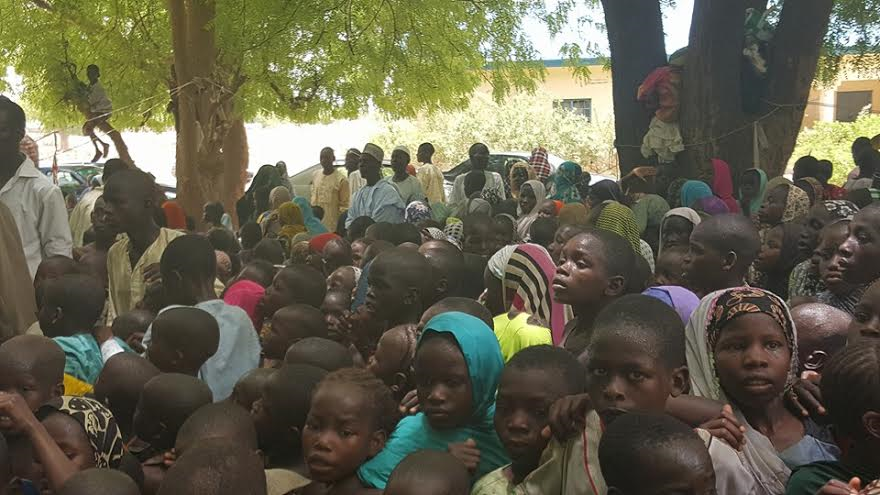 0 9 years old girl who was rescued from Sambisa forest says she wants to go back