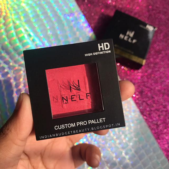 NELF USA HD Custom Pro Palette Blush REVIEW